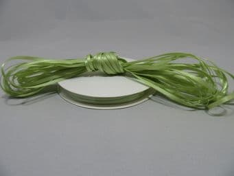 Apple light Green Satin ribbon Double sided 3mm 7mm 10mm 15mm 25mm 38mm 50mm Roll Bow